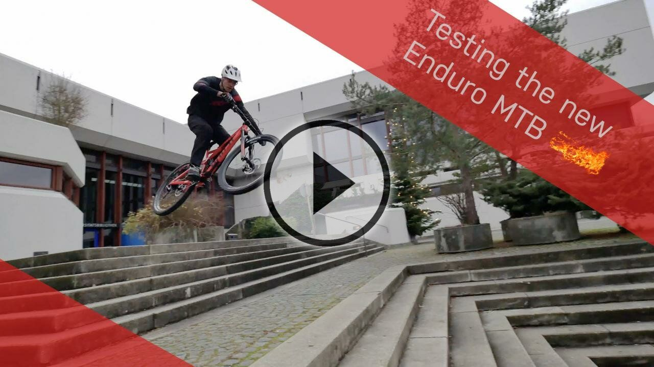 Testing the new Enduro MTB | Andi Schuster & Rainer Mitterbiller | RAW Street Action |