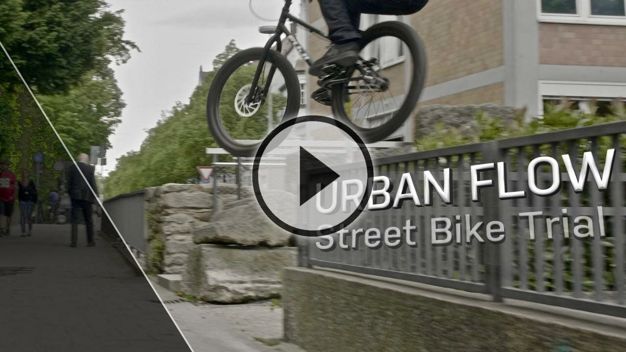 URBAN FLOW | Andi Schuster | Street BIKE Trial | 2018