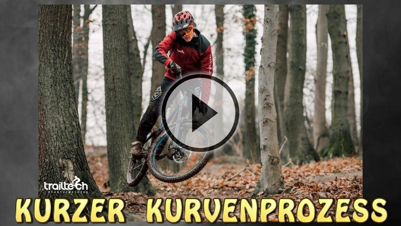 TRAILTECH Mountainbiking Harz - Kurzer Kurvenprozess