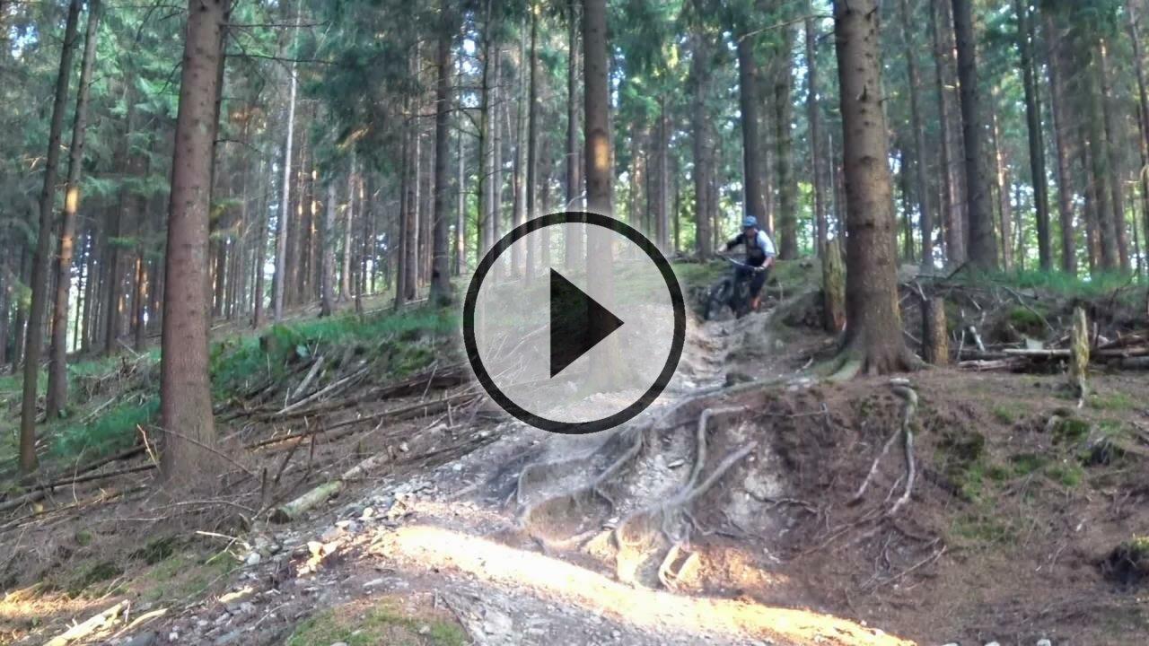 Solingen Glüder - Wittwenmacher Trail - Enduro MTB im bergischen Land *no POV*